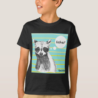 Raccoon_Cookies_113323534.ai T-Shirt