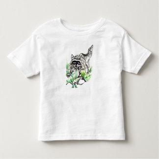 Raccoon & Frog, Sumi-e Toddler T-Shirt