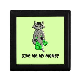 Raccoon - Give Me Money Gift Box