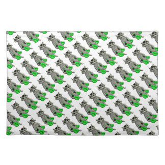 Raccoon - Give Me Money Placemat