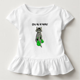 Raccoon - Give Me Money Toddler T-Shirt