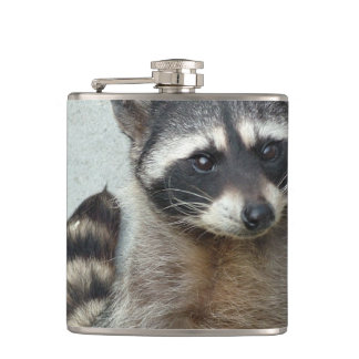 Raccoon Hip Flask