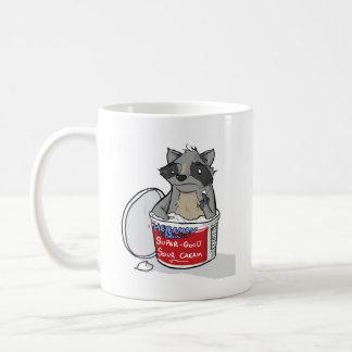 Raccoon in Sour Cream Coffee Mug