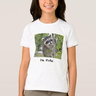 Raccoon - kids T-shirt