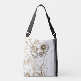 Raccoon Monster Crossbody Bag