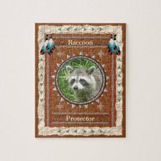 Raccoon  -Protector-  Jigsaw Puzzle w/ Gift Box