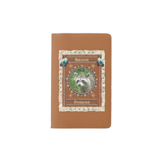 Raccoon  -Protector- Notebook Moleskin Cover