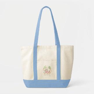 """""""Raccoon Tea Party"""" Baby Diaper Bag"""