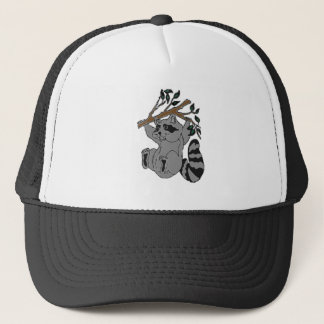 Raccoon Trucker Hat
