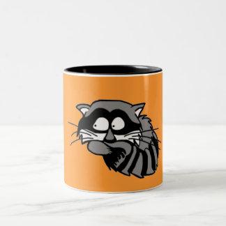 Raccoon Two-Tone Coffee Mug