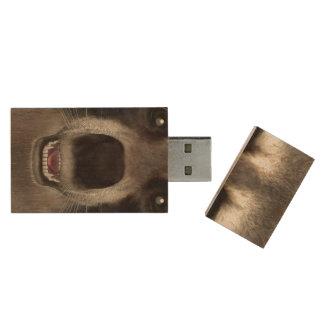 Raccoon Wood USB Flash Drive