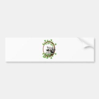 Raccoon WOODLANDCRITTERS Bumper Sticker