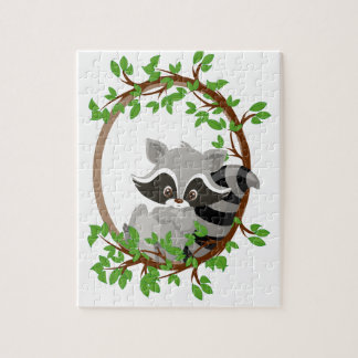 Raccoon WOODLANDCRITTERS Puzzles