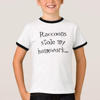 Raccoons Stole My Homework T-Shirt