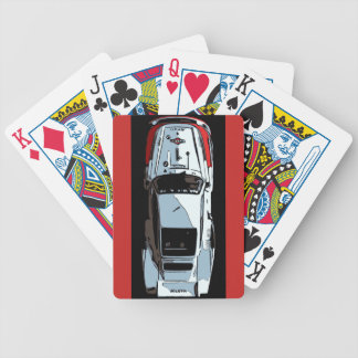 RACE CAR -#1 Above Bicycle Playing Cards