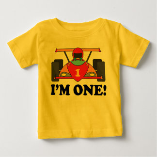 Race Car 1st Birthday I'm One T-shirt