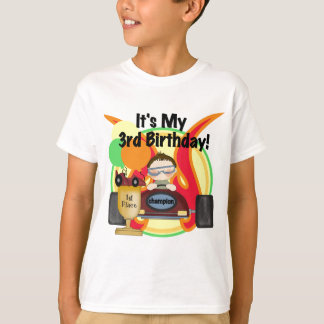 Race Car 3rd Birthday Tshirts and Gifts