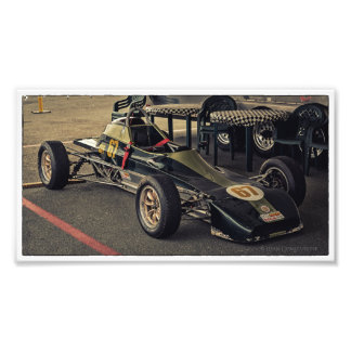 Race Car 67 Color Photo