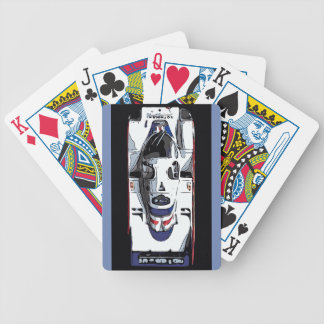RACE CAR - BELL BICYCLE PLAYING CARDS