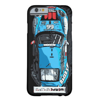 RACE CAR -BLUE BARELY THERE iPhone 6 CASE
