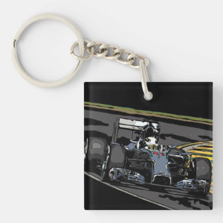RACE CAR - BORN TO RACE KEY RING