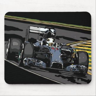 RACE CAR - BORN TO RACE MOUSE PAD