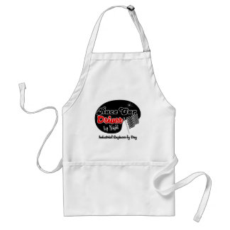 Race Car Driver by Night Industrial Engineer by Da Aprons