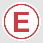 Race Car Fire Extinguisher Decal Set Round Sticker