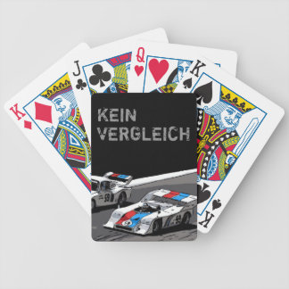 RACE CAR - KEIN VERGLEICH BICYCLE PLAYING CARDS