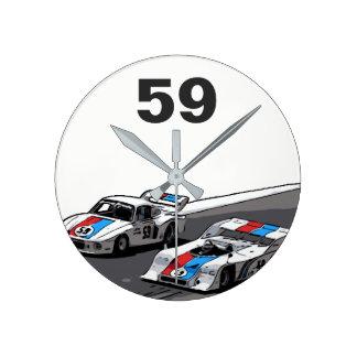 RACE CAR - KEIN VERGLEICH ROUND CLOCK
