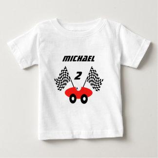 Race Car/ Personalizable Baby T-Shirt