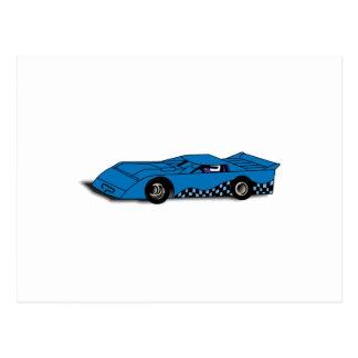 Race Car Postcard