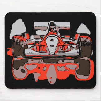 RACE CAR - RAIN MASTER MOUSE PAD