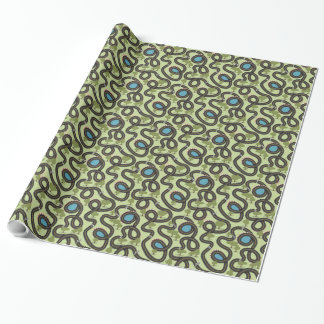Race Car Track Wrapping Paper