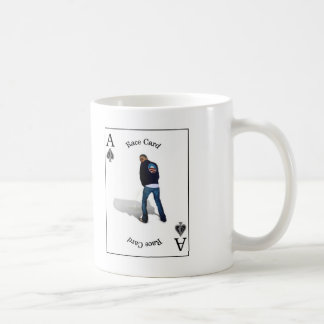 race card, Joker Basic White Mug