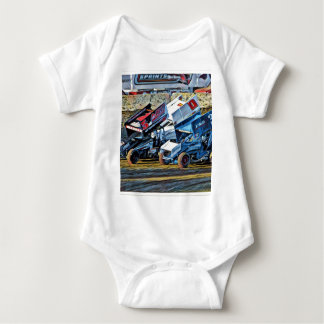 Race Cars Baby Bodysuit