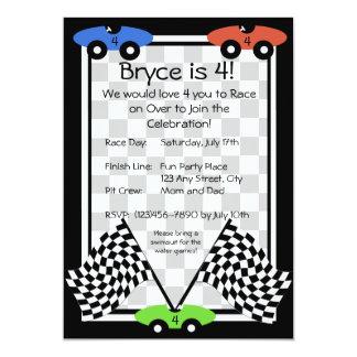 Race Day Invitation