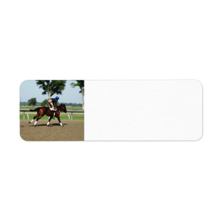 Race Horse address labels