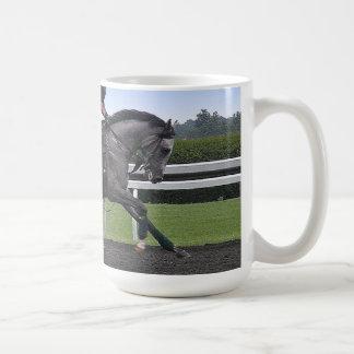 Race horse mug