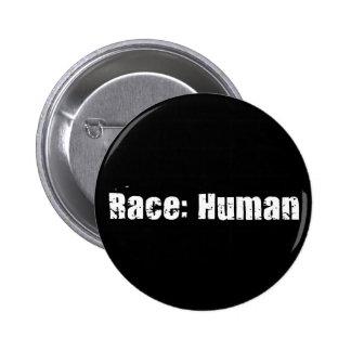Race: Human 6 Cm Round Badge