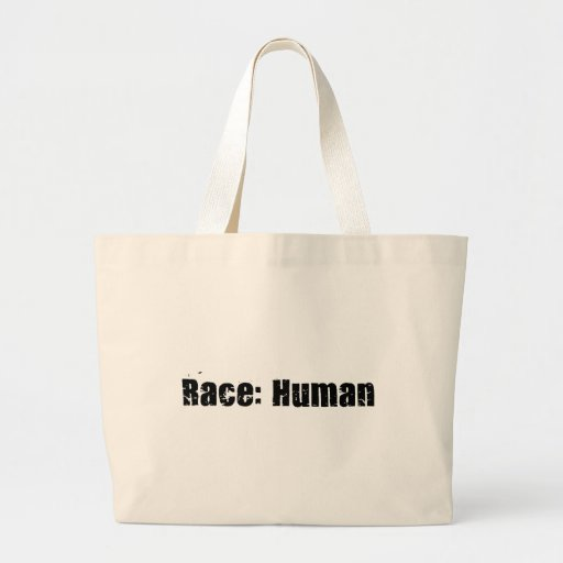 Race: Human Canvas Bags