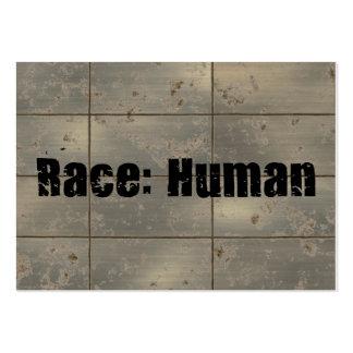 Race: Human Business Cards