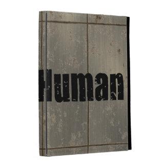 Race Human iPad Folio Cases