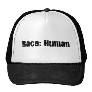 Race Human Mesh Hats