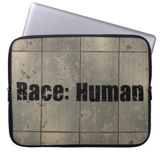 Race Human Laptop Computer Sleeves