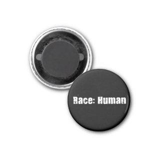 Race Human Fridge Magnet