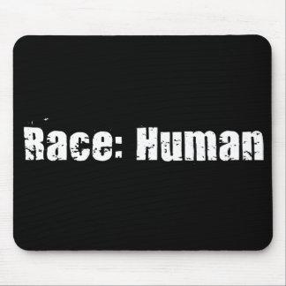 Race Human Mouse Pad