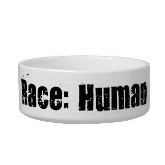 Race: Human Pet Food Bowls