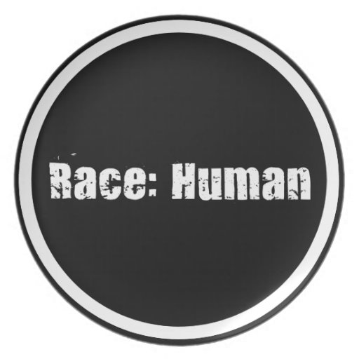 Race: Human Party Plates
