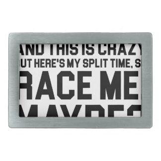 Race Me Maybe Belt Buckle